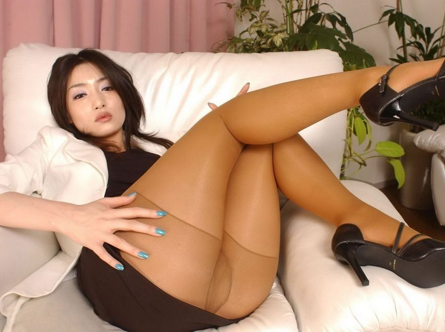 Pantyhoseimages Asian Girl Cum Covered Her Legs