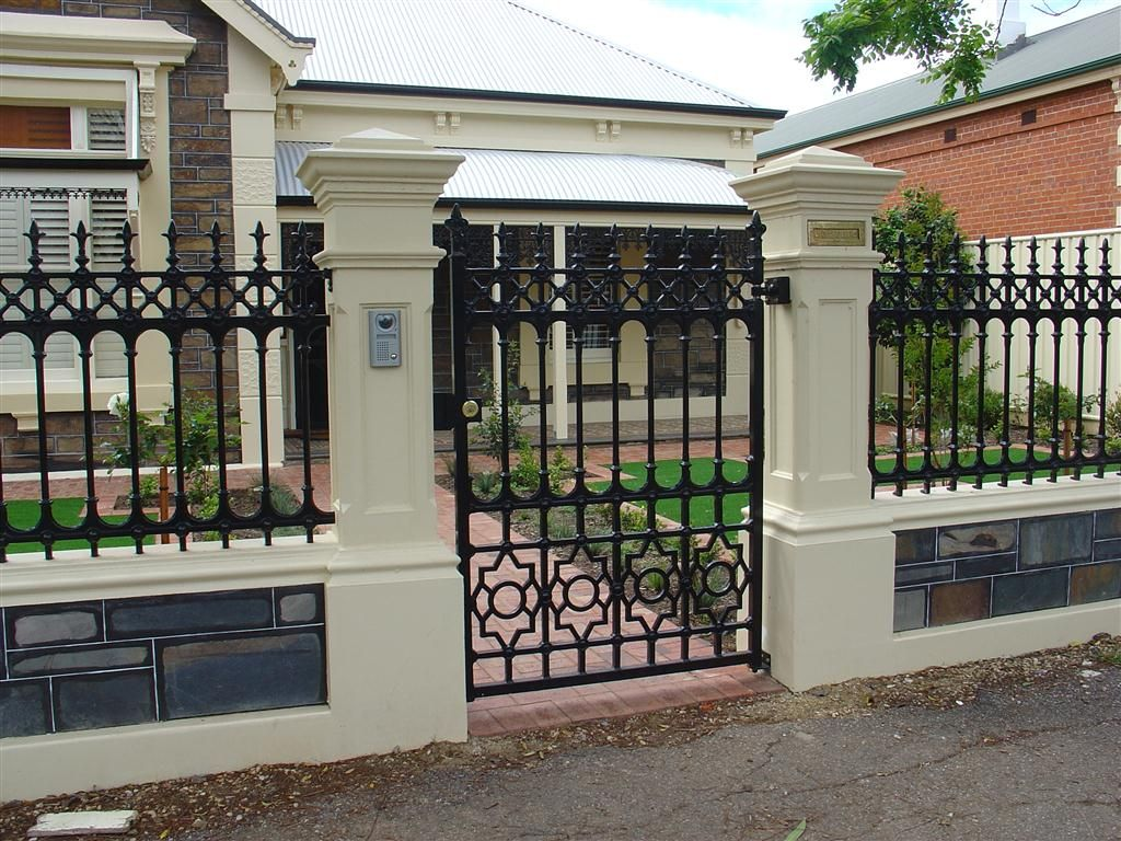 Hindmarsh Fencing And Wrought Iron Security Doors Gates Desain
