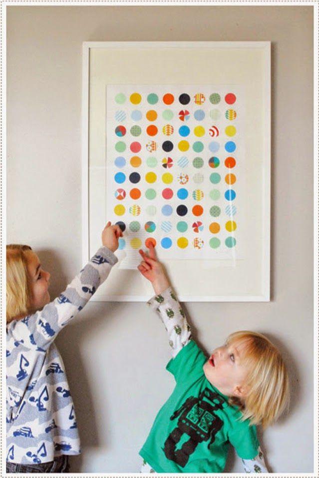 Diy c mo hacer cuadros para habitaciones infantiles diy - Cuadros habitaciones infantiles ...