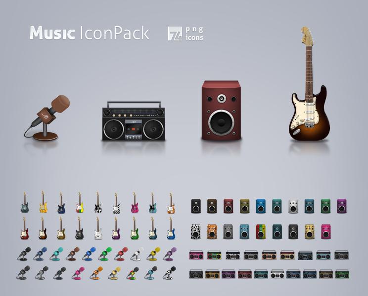 Music Icon Set By Lemex Deviantart Com On Deviantart Design Freebie Music Icon Icon Set