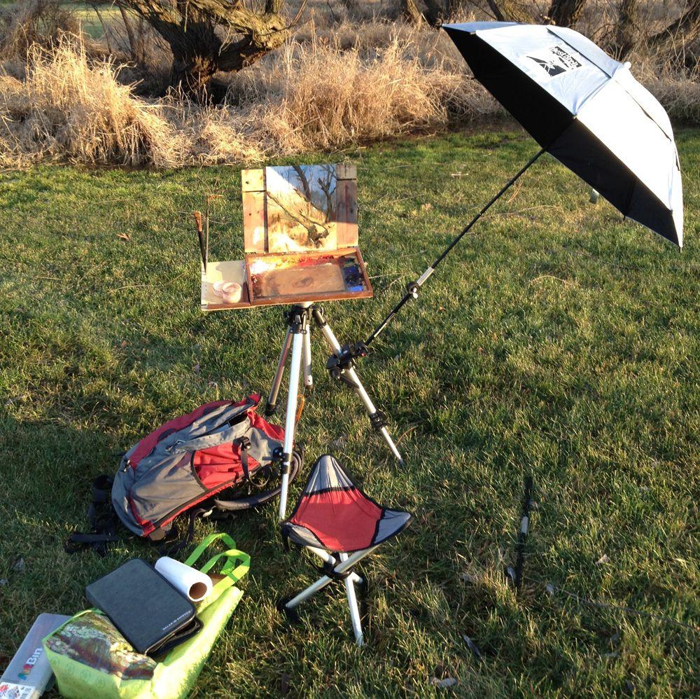 Plein Air Painting Equipment Tips / Aaron B. Miller aaron