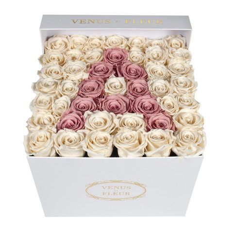 The Collection Rose Arrangements Flower Box Gift Flower Bouquet Boxes