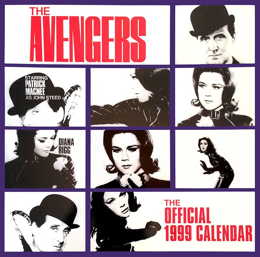 Avengers 1999 Calendar With Images Film Posters Avengers
