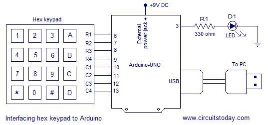 Electronic Number Lock Circuit Diagram | Electronic Combination Lock Circuit Diagram 13 Beyonddogs Nl