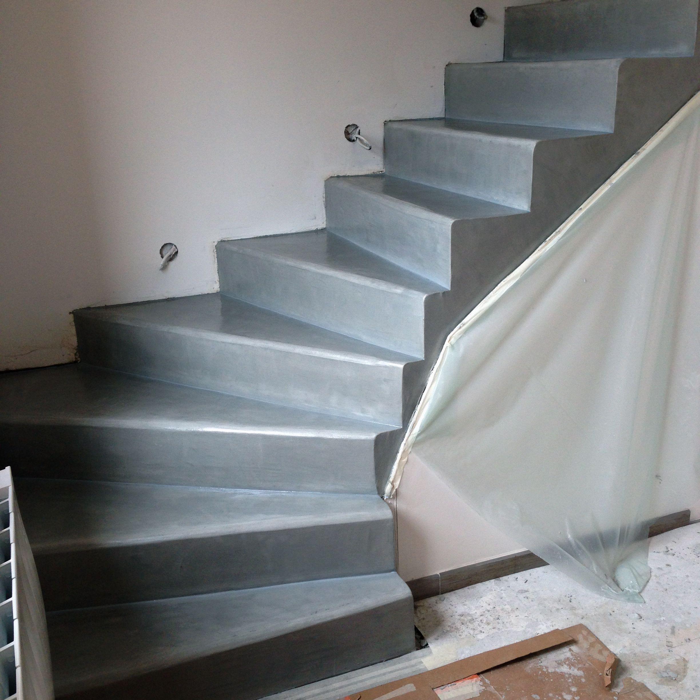 91 Escalier Ciment Teinte Escalier Beton Deco Maison Escalier Carrele
