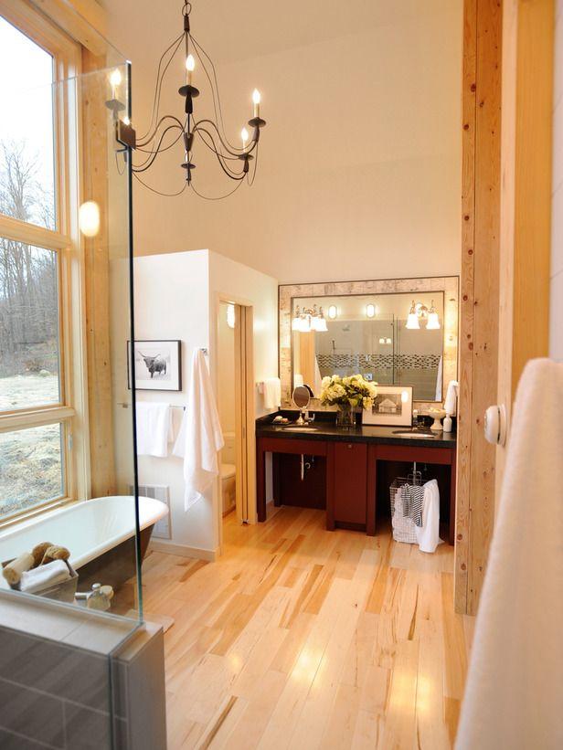 bathroom idea Dream Home Pinterest Hgtv dream homes, Master