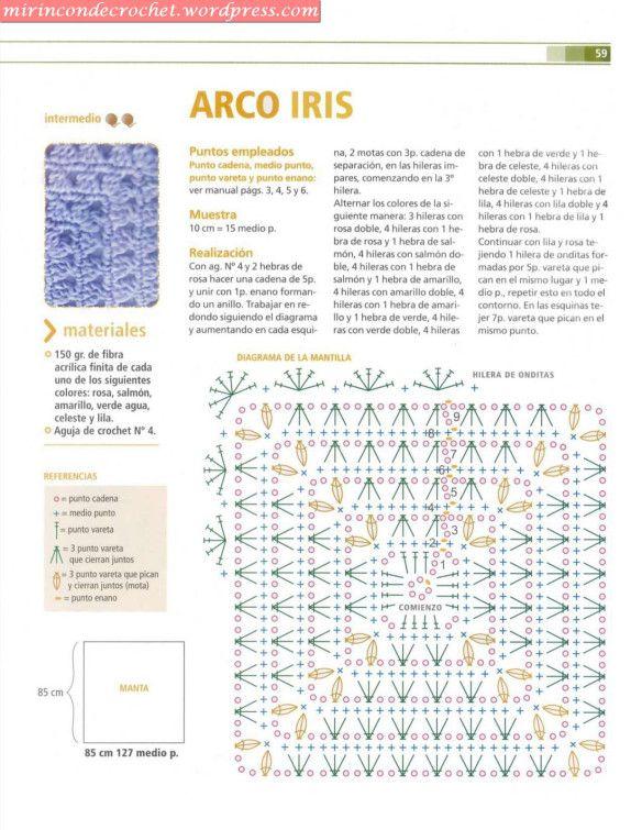 El gran libro del tejido crochet Bebes_10 | Crochê: home, blanket ...
