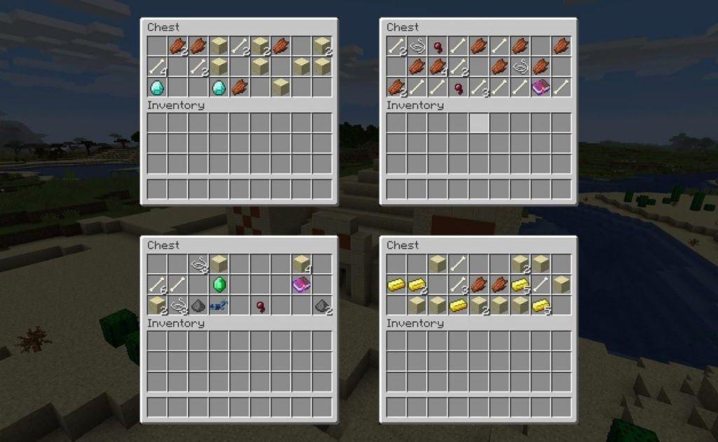 Seed Eetax Seed Number 65861355 Platform Pc Mac Minecraft Java Edition Tested On Minecraft 1 13 Descript Minecraft Pyramid Desert Temple Pyramids