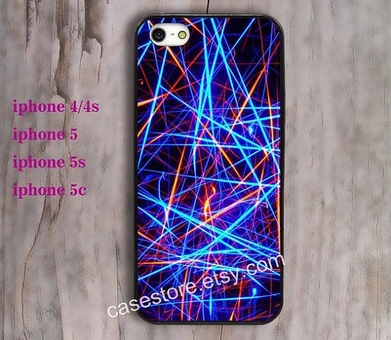 colorful led iphone 5 case mockingjay iphone 4 case by charmcover, $7.99