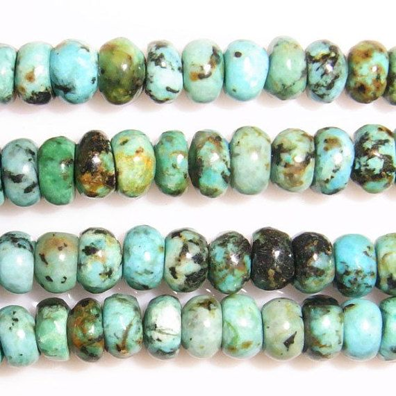 AfricaTurquoise Green Gemstone Beads For Bracelet Necklace Jewelry Beawork6-10mm