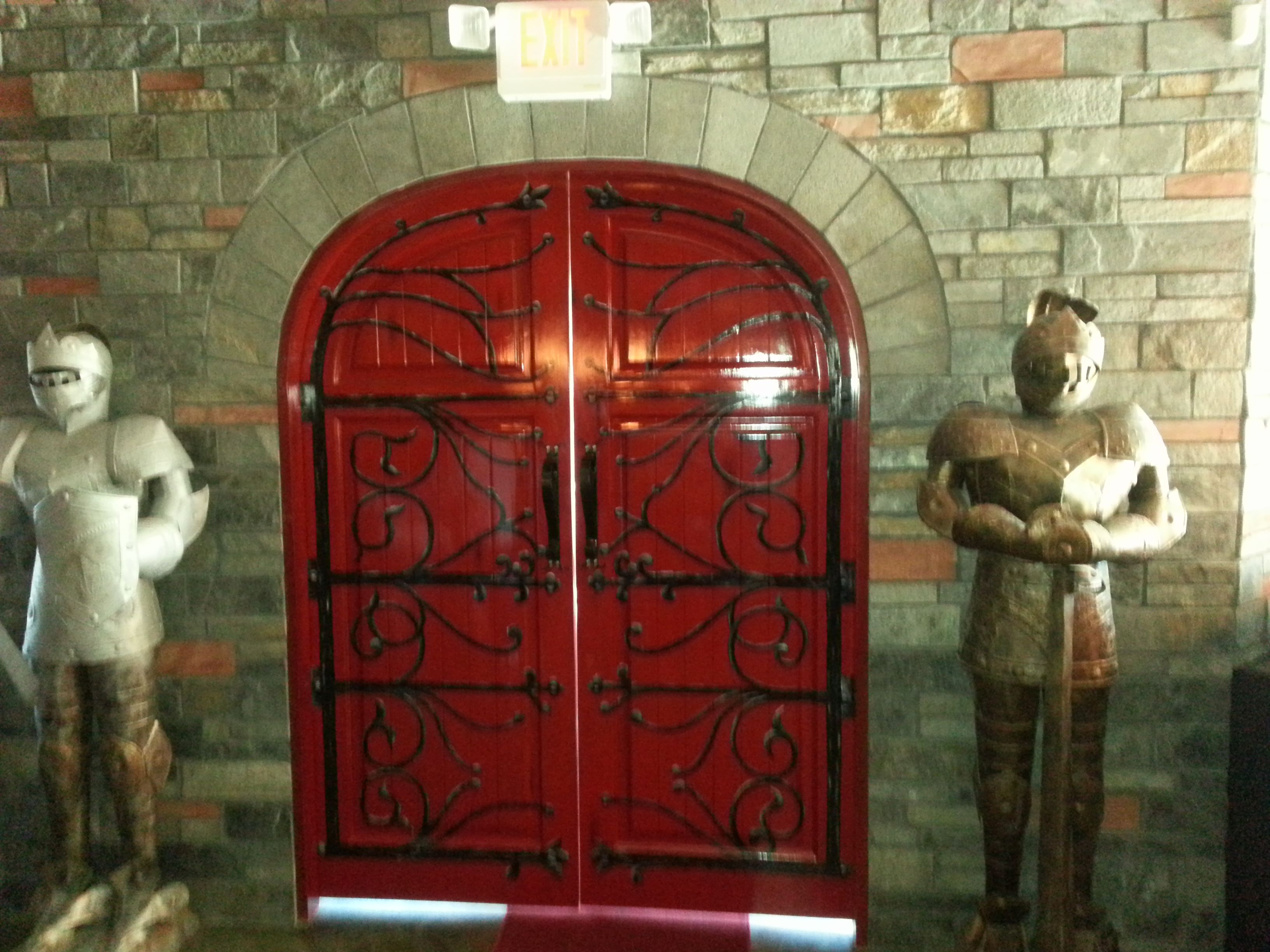 Front Door To Rooster Tavern In Scottsdale, AZ