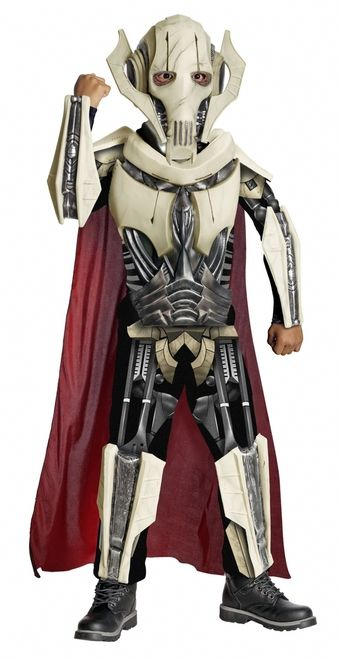 Deluxe General Grievous Star Wars Halloween Costum - This is a General Grievous costume from Star Wars. He was a Commander during the Clone Wars and bane to ...  sc 1 st  Pinterest & Deluxe General Grievous Star Wars Halloween Costume | Pinterest ...