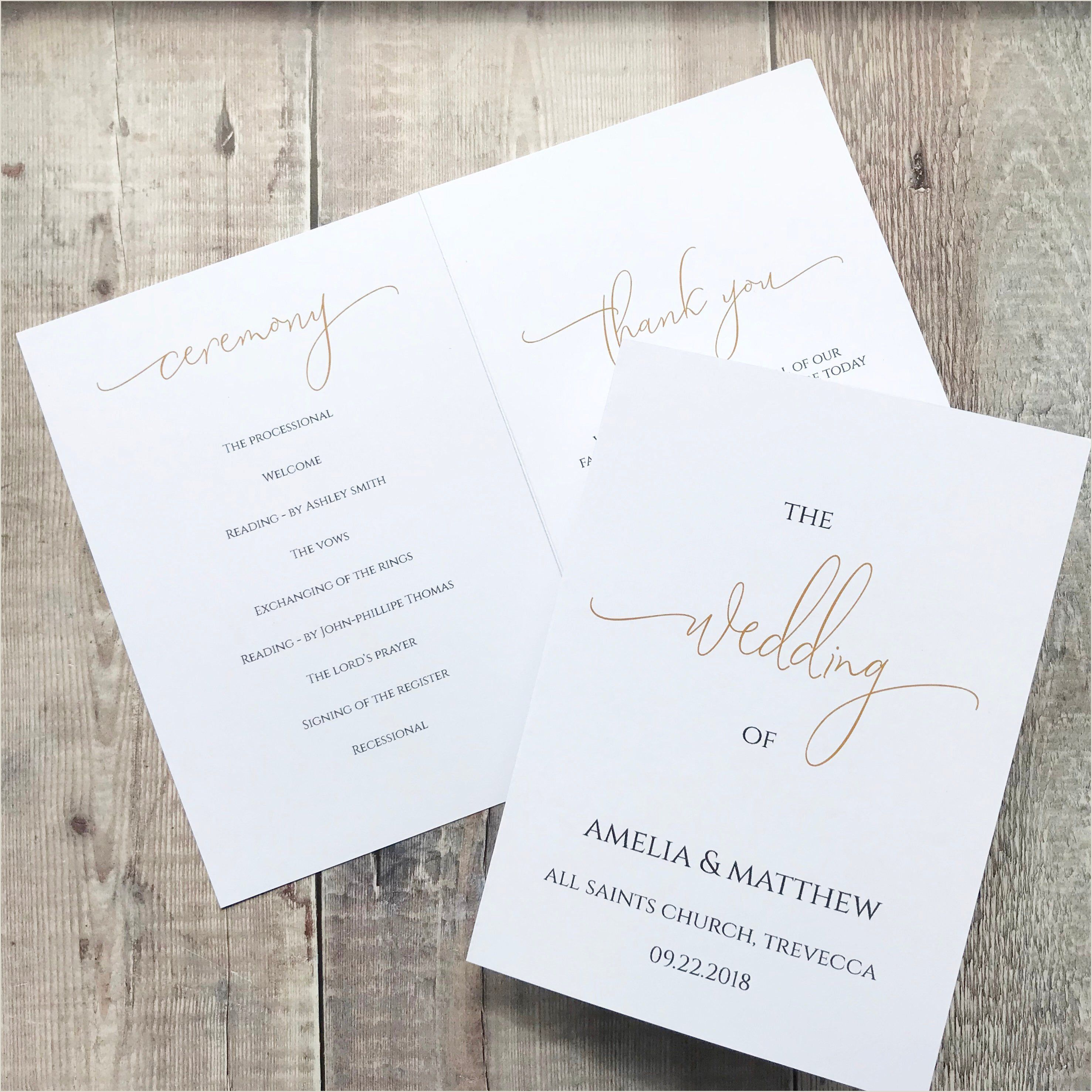 Wedding Program Templates Etsy In 2020 Wedding Programs Template Printable Wedding Program Template Wedding Program Template Free
