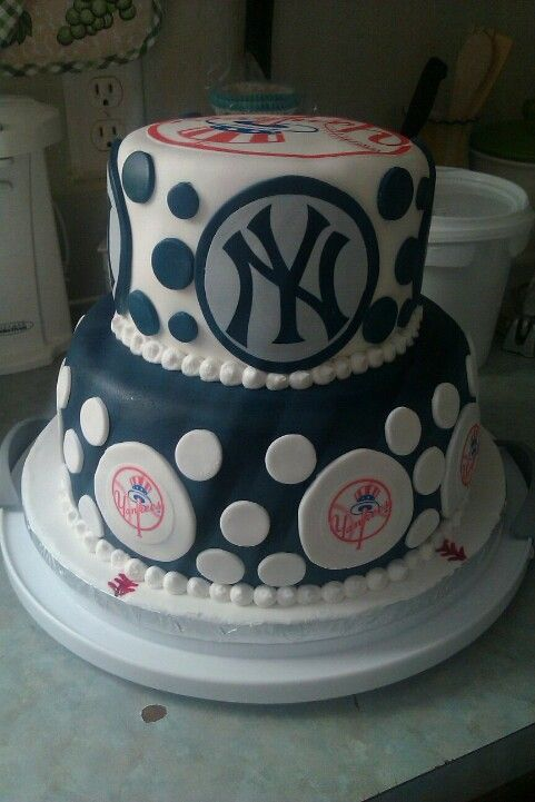 New York Yankees Cake Creations Made By Me Yankee Cake