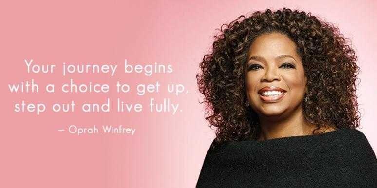 25 Inspirational Oprah Winfrey Quotes About Life, Success