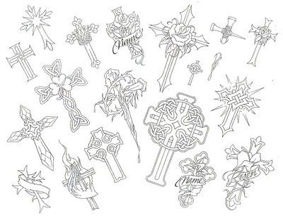 Handy image inside free printable tattoo flash sheets