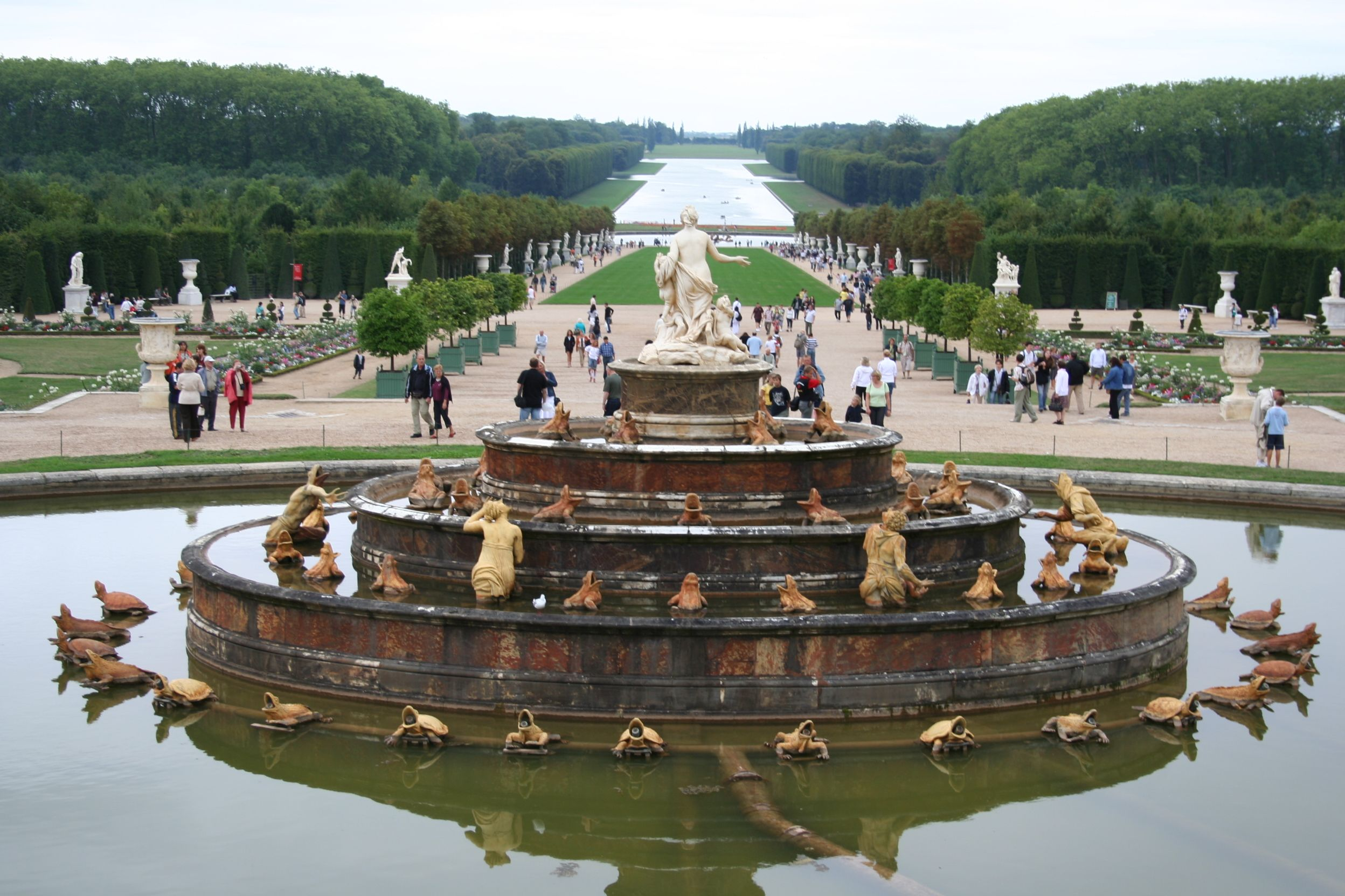 Image result for versailles garden