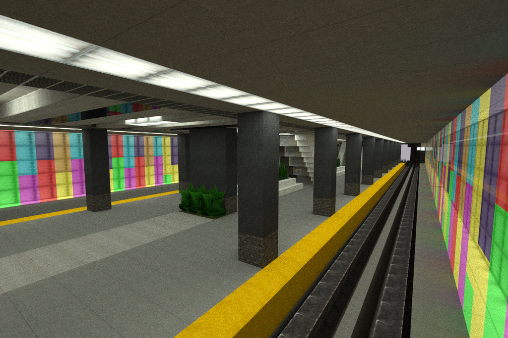 how to make train station in minecraft