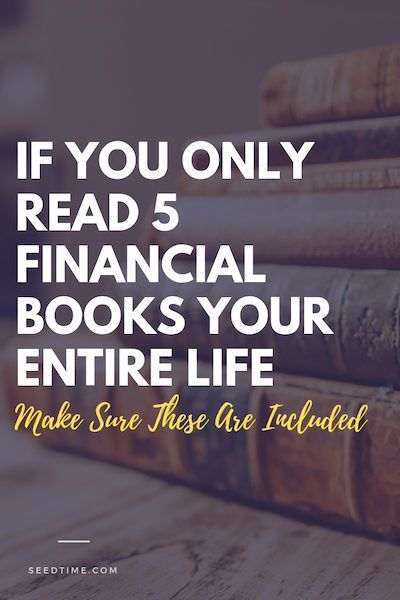 If You Only Read 5 Financial Books Your Entire Life, Make Sure These 5 Are Included is part of Investing books, Top books to read, Personal finance books, Money book, Finance books, Financial - There are all kinds of lists that will proclaim this or that book to be the top financial book available  But we're going to take a different approach here  Our list is going to focus on the books that are a benefit to you in five fundamental areas Getting out of debt Changing your attitude