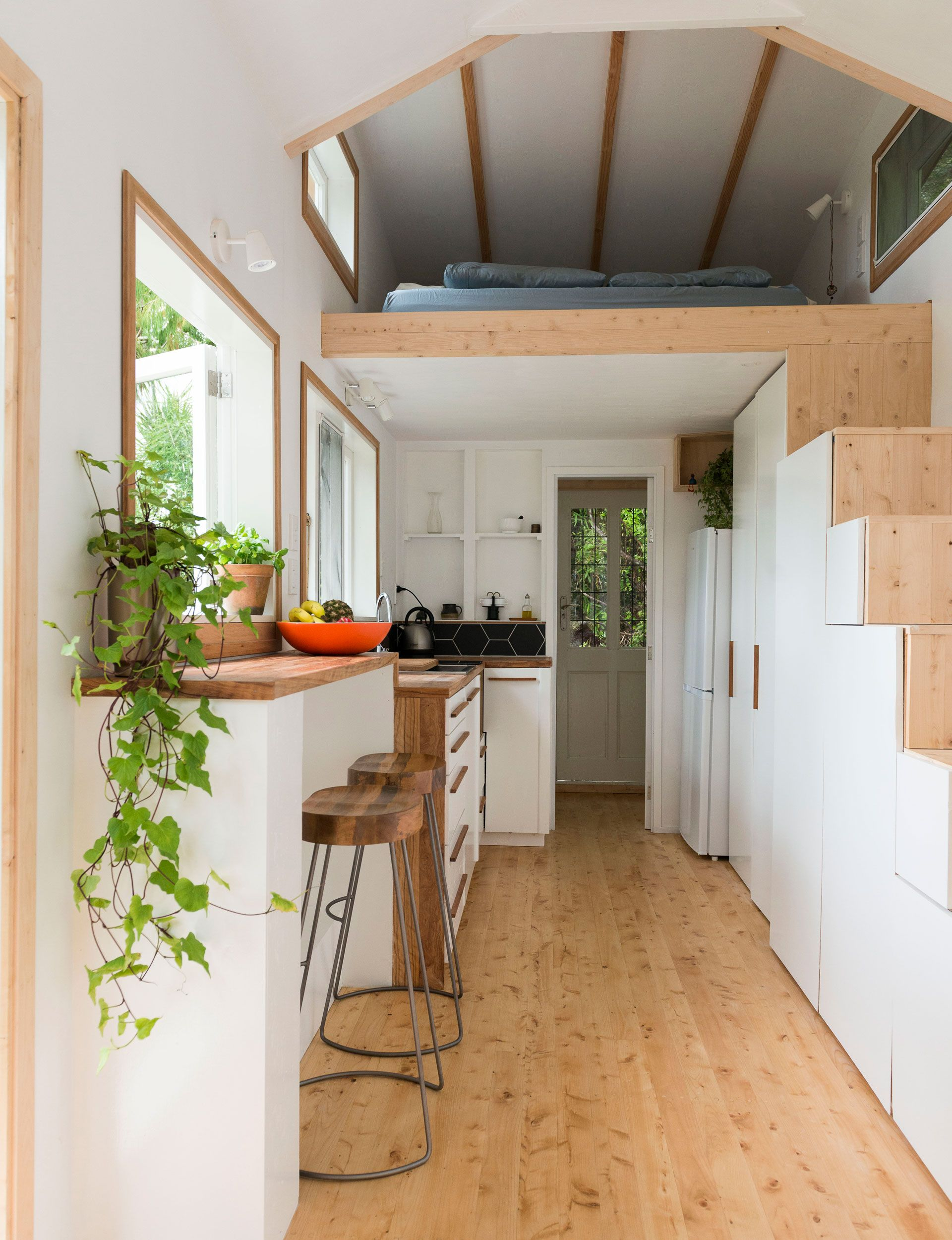 Photo of Auckland couple build tiny home in Henderson Valley