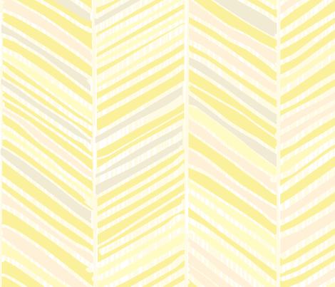 Herringbone Hues Of Pastel Yellow By Friztin Fabric By Friztin On Spoonflower Custom Fabric Prints Ipad Wallpaper Watercolor Ipad Wallpaper