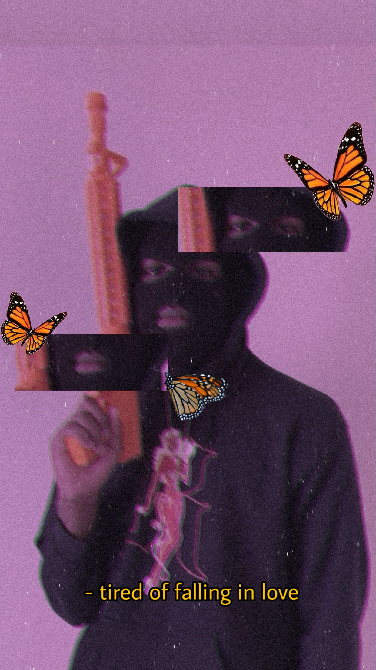 #interesting #people #aesthetic #baddieaesthetic #baddie #wallpaper #wallpapers #playboiaesthetic #gangsta #ganstaaesthetic #gangsteraesthetic #gangster #butterfly #pink #pinkaesthetic #purple #purpleaesthetic #skimask #skimaskaesthetic  #freetoedit
