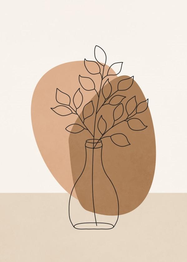 Quadro Decorativo - FLOWER VASE