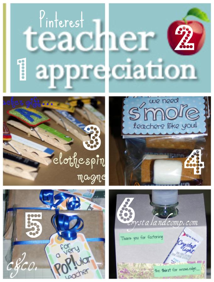 Teacher Appreciation and Pinterest Linky Party!