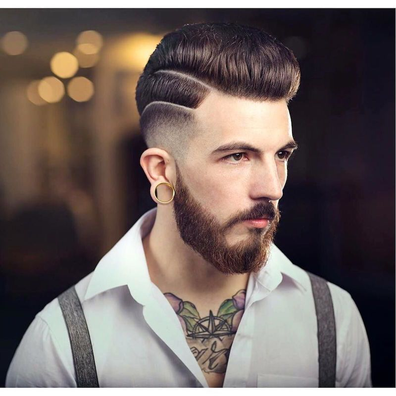 49 Cool New Hairstyles For Men 2017 Pompadour Hairstyle Men And