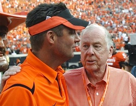 Gundylicious & T. Boone Pickens   Oklahoma state football ...