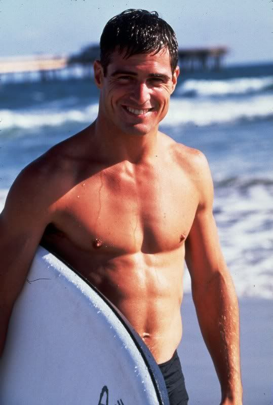 George Eads...oh he's wet too hahaha!