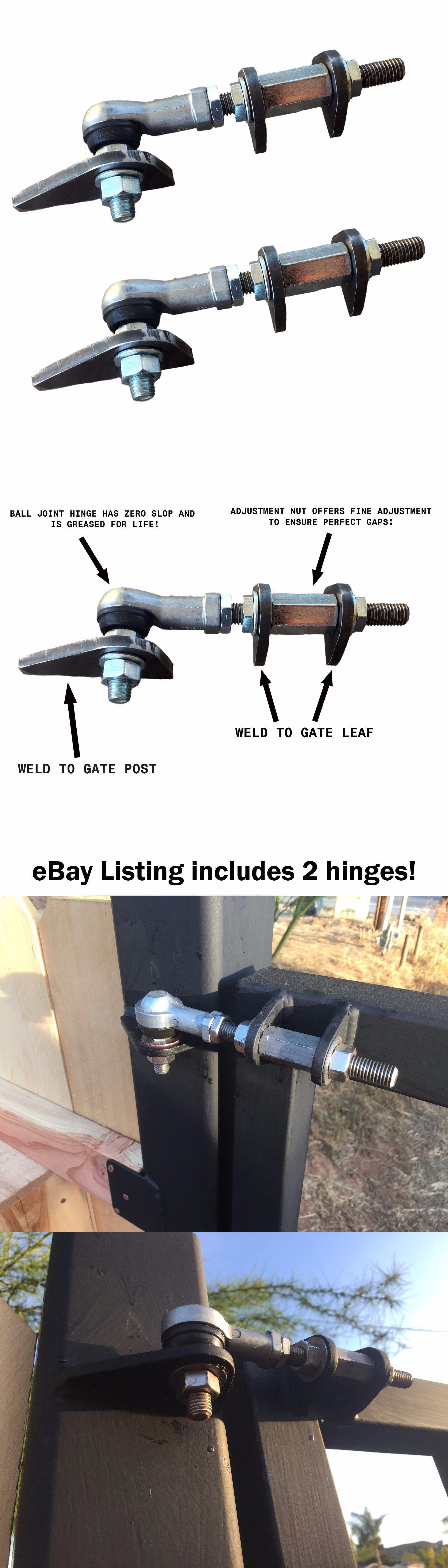 Door Hinges 66739: Heavy Duty Adjustable Gate Hinges W Sealed Ball Joints   U003e BUY