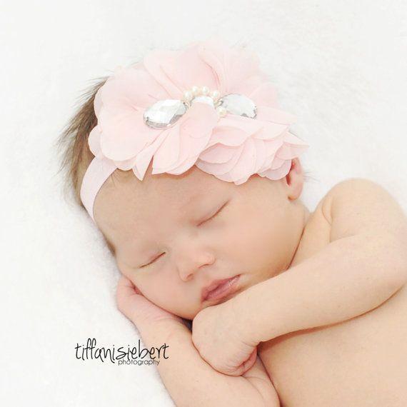 Baby Headbands, Newborn Headband, Baby Bows, Headband, Girl Headband ...