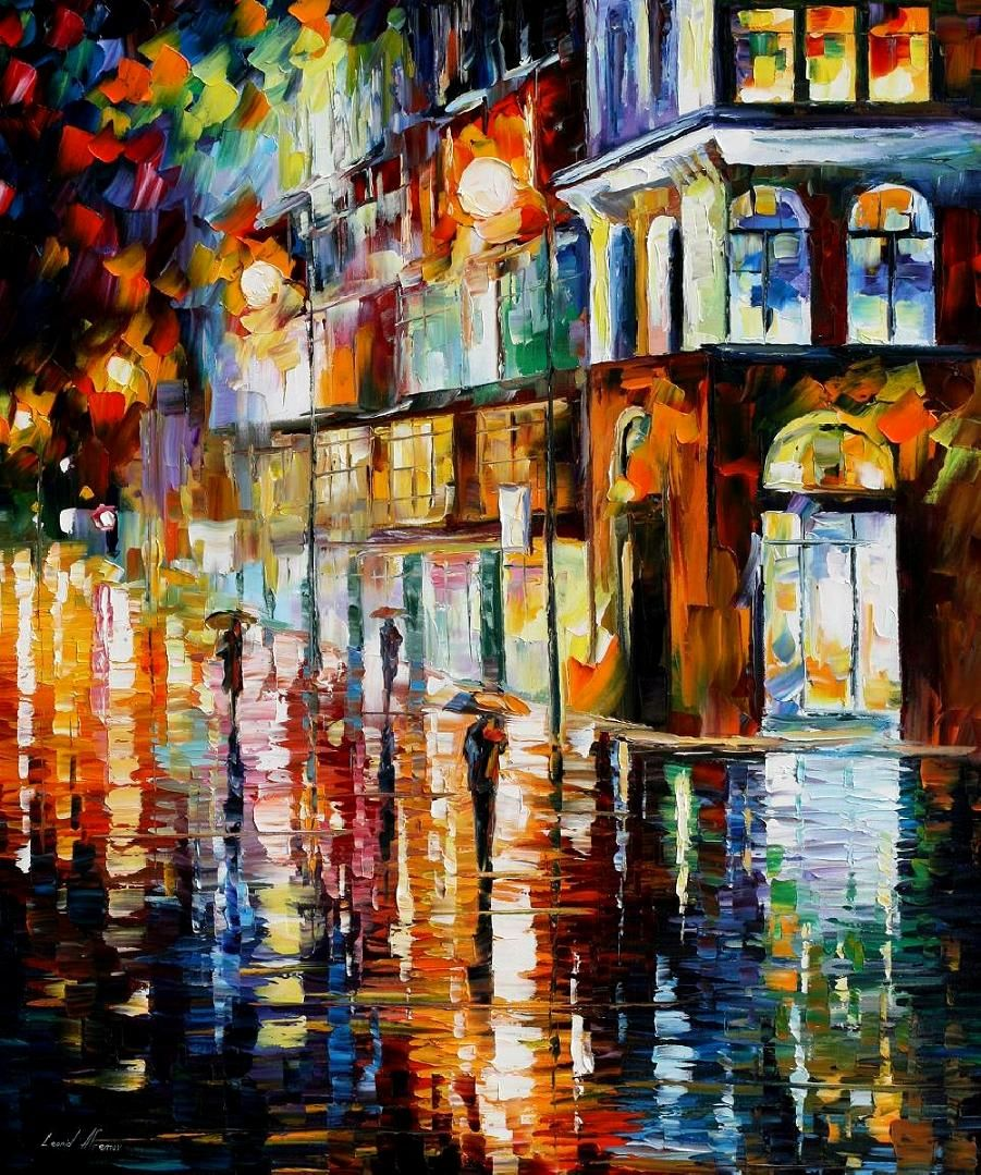 Oil paintings of buildings impressionism - Google Search