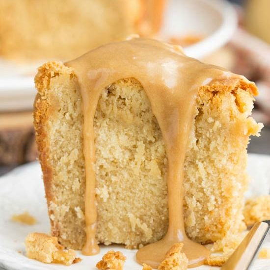 Cookie Butter Pound Cake (Call Me PMc) #cookiebutterpie