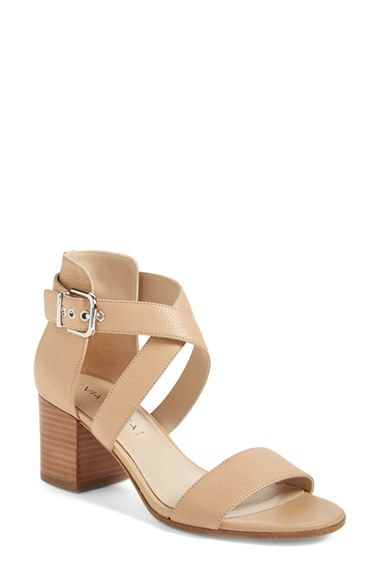 Via Spiga  Jobina  Crisscross Strap Block Heel Sandal (Women ...