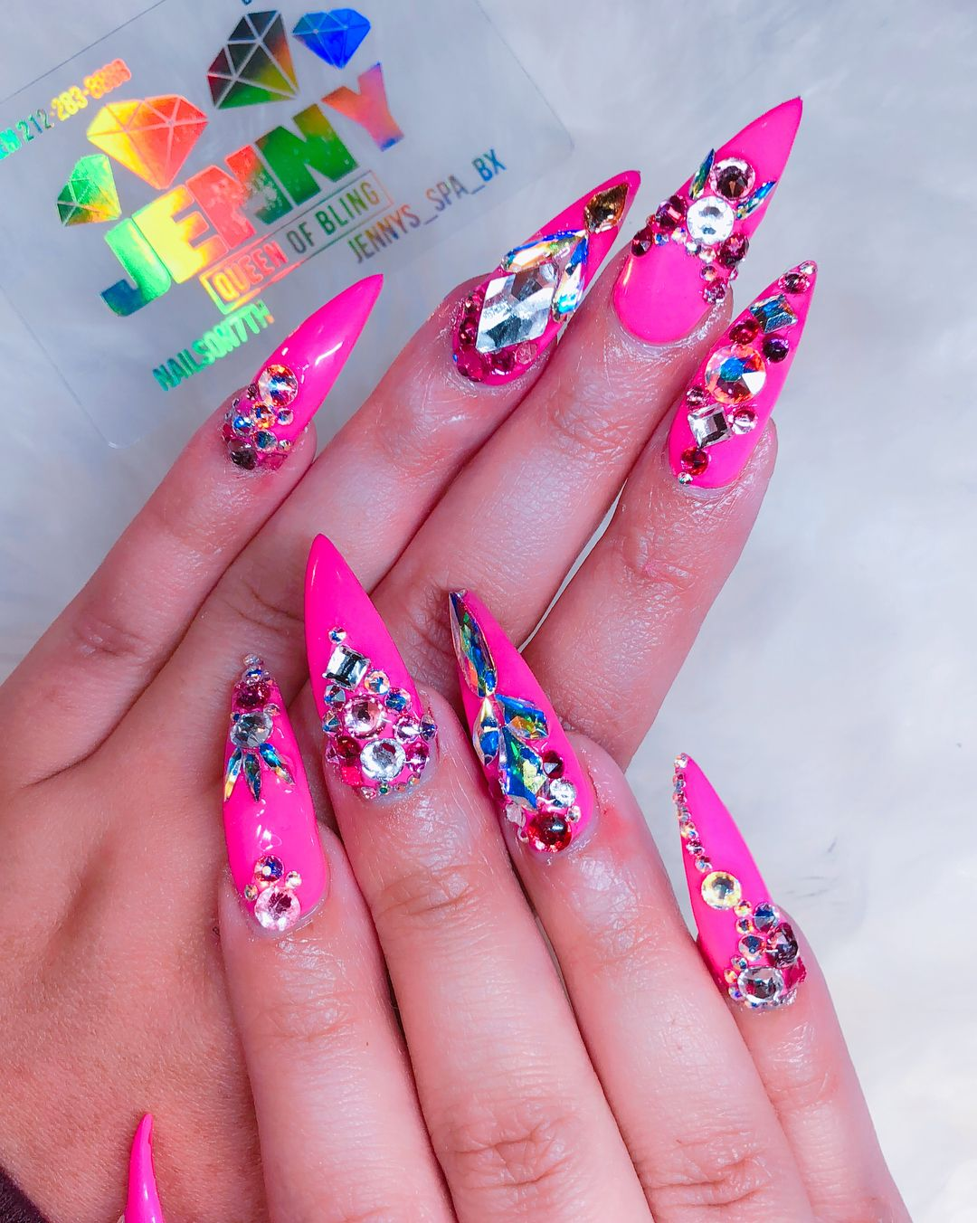 1,242 Likes, 2 Comments - Bling Jenny Bui (@nailson7th) on Instagram ...