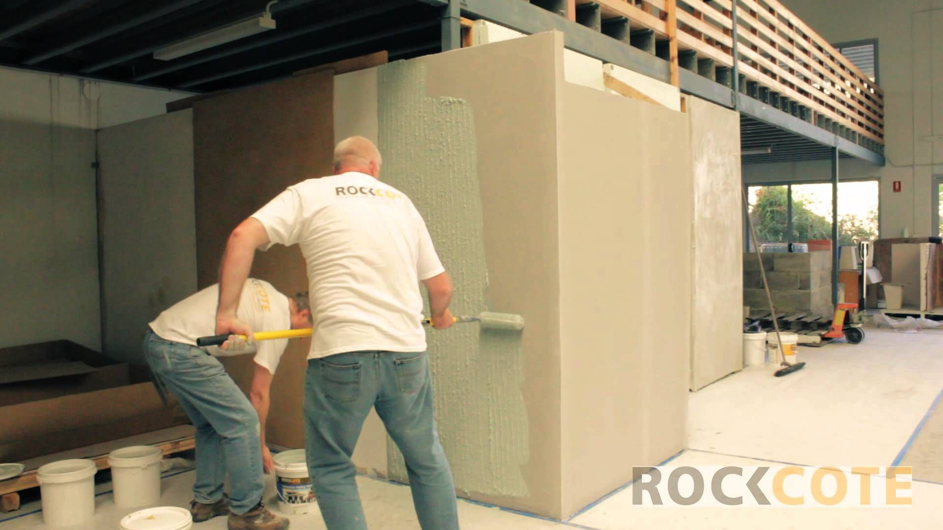 Rendering Cement Sheet and Blueboard Walls with Rockcote | Sorrento ...