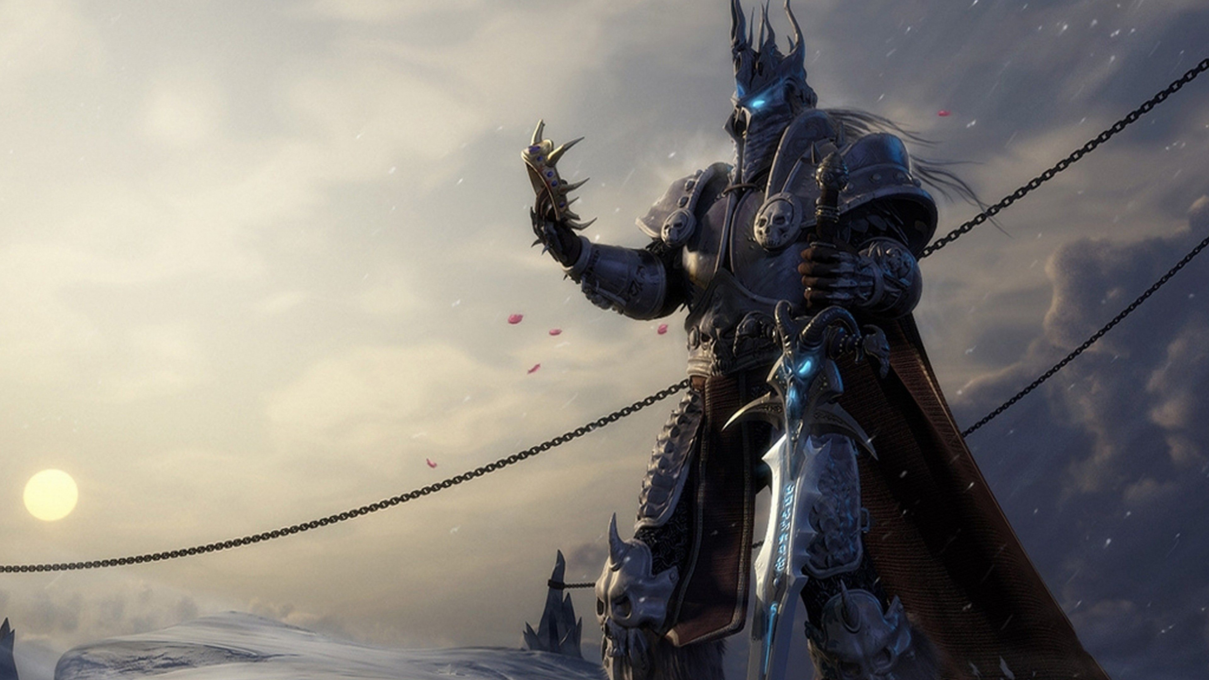 Hd Arthas Wallpaper World Of Warcraft Estilos De Homens Negros Historias