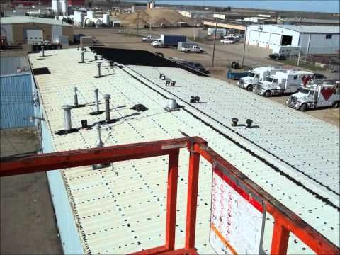 Industrial Roofing Roof Coating Wmv Www Grscanadainc Com General Roofing Systems Canada Grs Liquid Rubber Calg Roofing Roof Coating Industrial Roofing