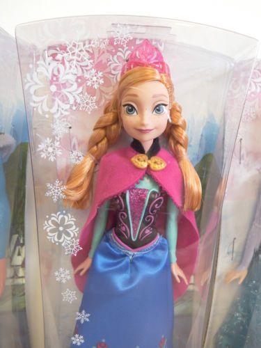 New in Box Disney Frozen Sparkle Kristoff Doll