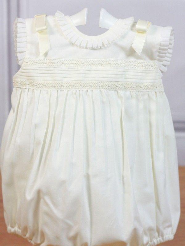 34cce9e1f Pelele beige ceremonia Belan - Ropa de bebés - Les bébés