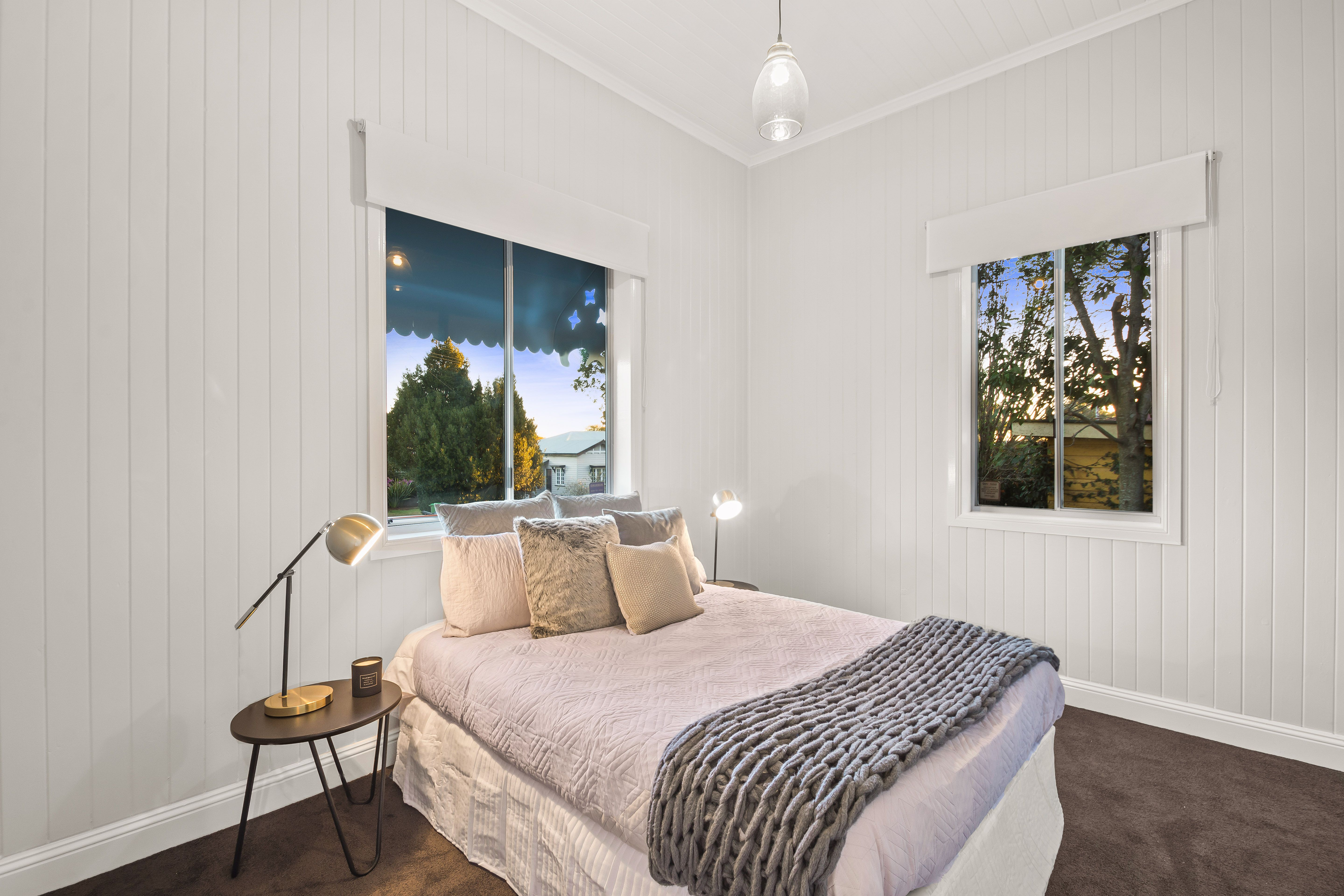 Master Bedroom At Project Geoffrey In Toowoomba Queensland Renovation Therenolads House And Home Magazine Home