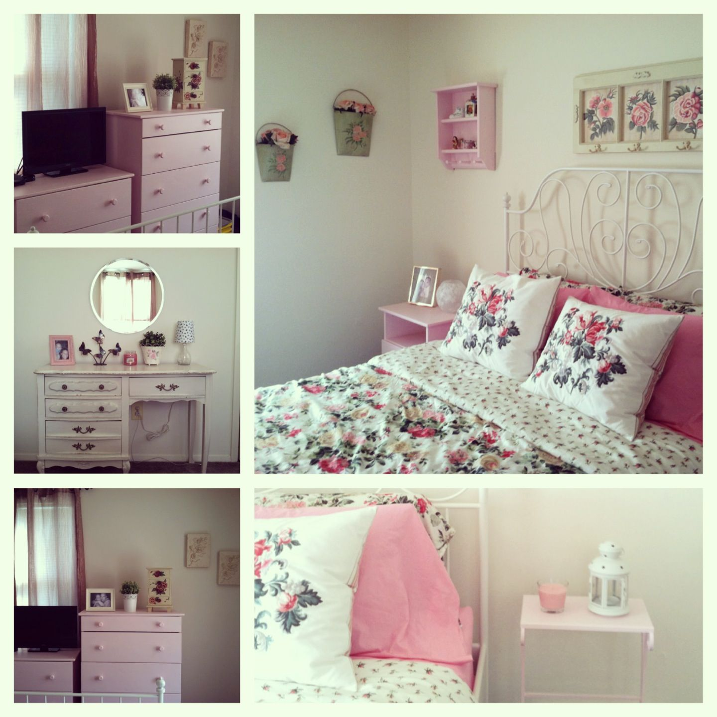 my shabby chic bedroom using ikea leirvik bed frame emmie