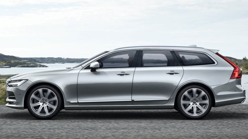 2018 Volvo V90 revealed: long live the wagon