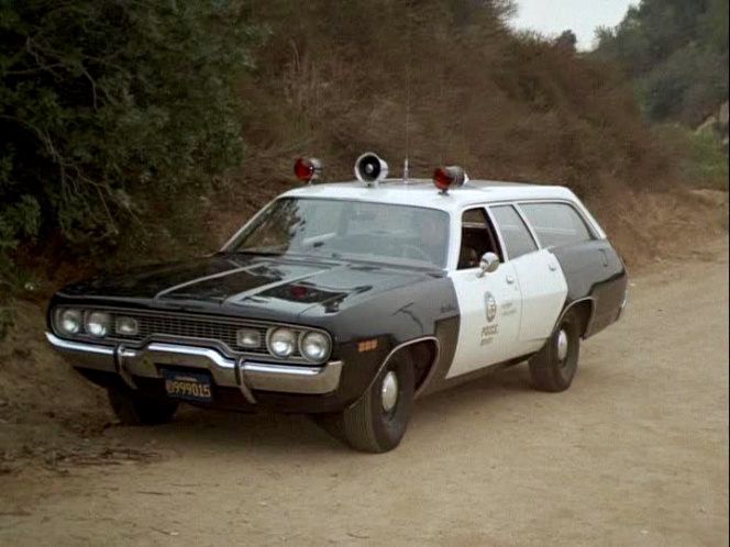 Los Angeles Police 1972 Plymouth Satellite Wagon Used