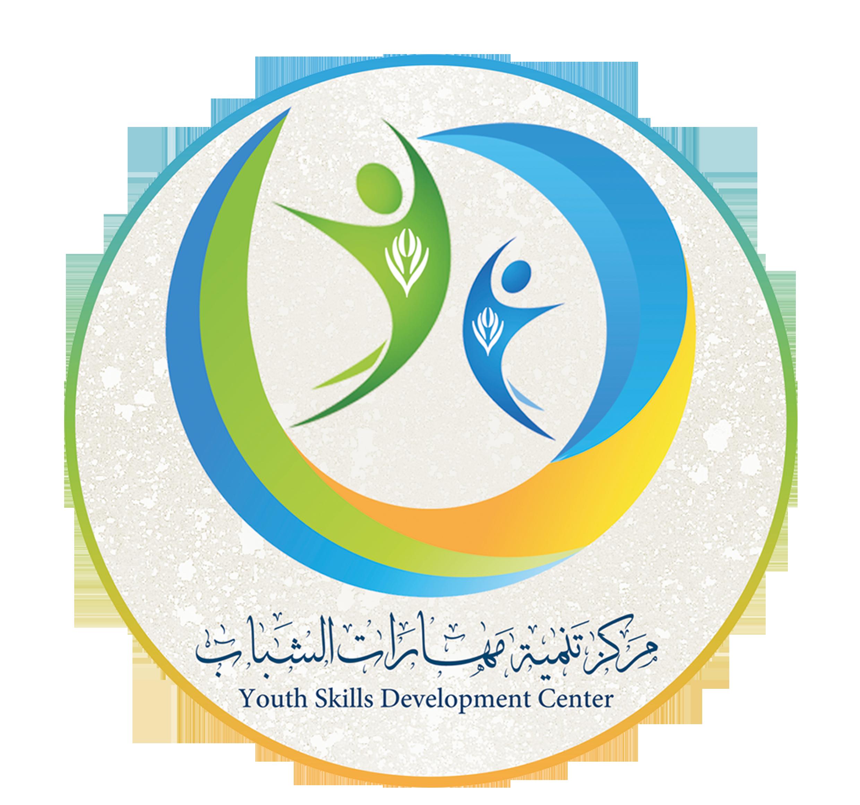 شعار مركز تنمية مهارات الشباب Logo Design Skills Development Letters