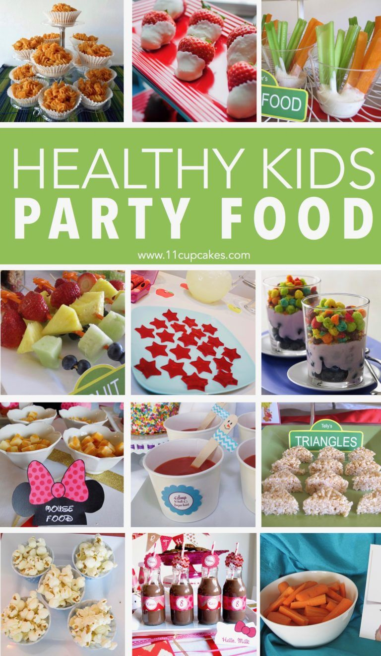 Healthy Kids Party Food Healthy kids party food, Kids