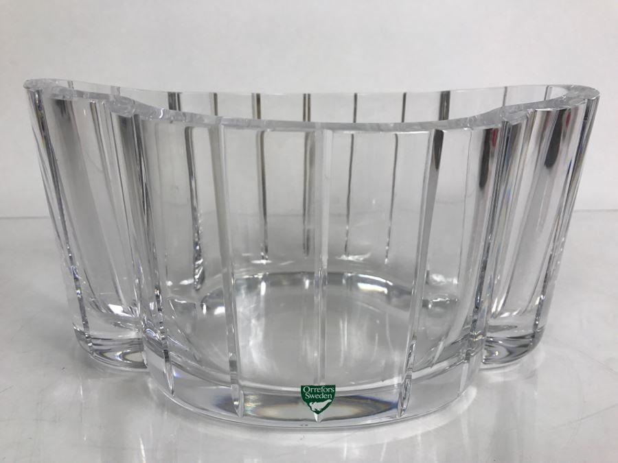 Vintage Orrefors Sweden Crystal Vase San Diego Online Estate Sales
