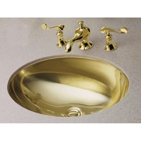 Gold Bathroom Sinks Mirror French Gold Stainless Steel